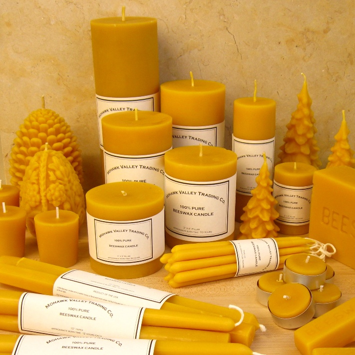 Beeswax Candles 100 Pure Beeswax Candles