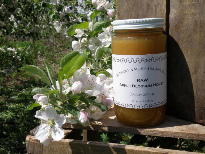 Pure Apple Blossom Honey, Unpasteurized Apple Blossom Honey, Unfiltered Apple Blossom Honey, Unprocessed Apple Blossom Honey, Unheated Apple Blossom Honey, Unblended Apple Blossom Honey, Gourmet Apple Blossom Honey