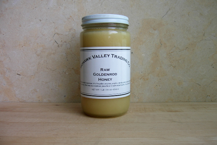 Raw Goldenrod Honey