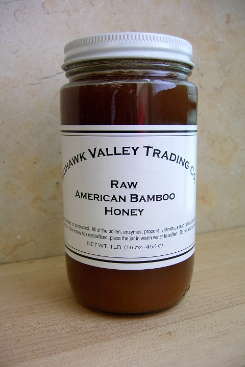 Bamboo Honey, Raw